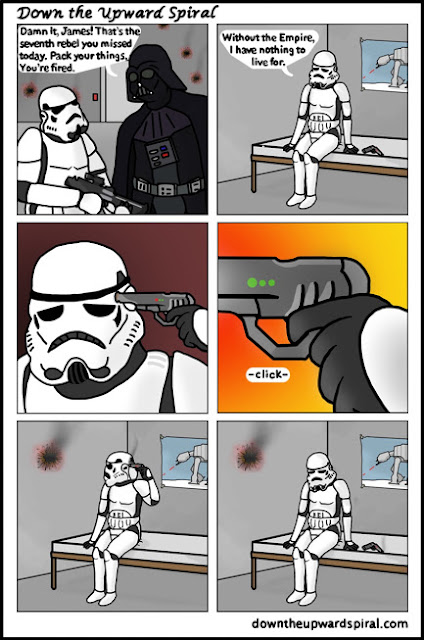 Stormtrooper Point Blank Miss