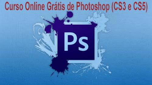 Curso Online Grátis de Photoshop (CS3 e CS5)