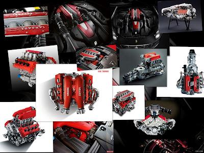 Ferrari Car Engine Theme For Windows 7 And 8
