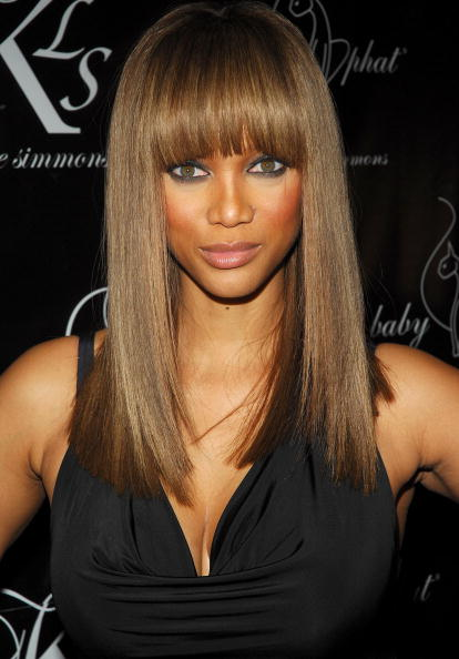 tyra banks hair flip. TYRA BANKS 2011 HAIRCUT