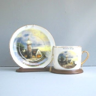 Order a Thomas Kinkade A Light In The Storm Teacup