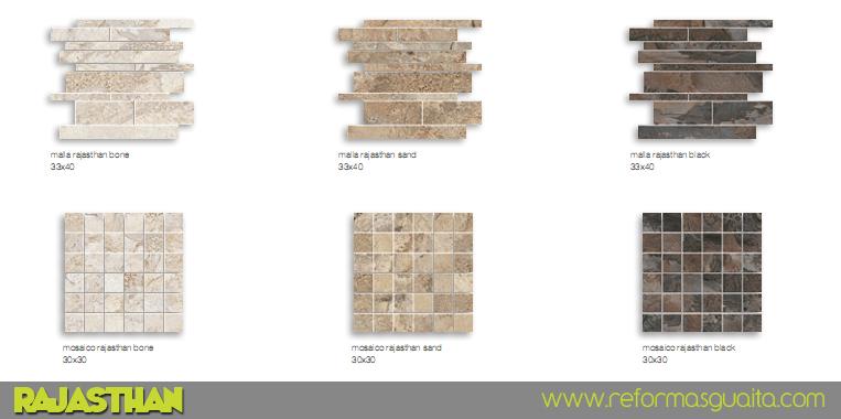 Azulejos Baño Undefasa:RAJASTHAN, azulejo porcelánico con sabor a piedra ~ Reformas Guaita