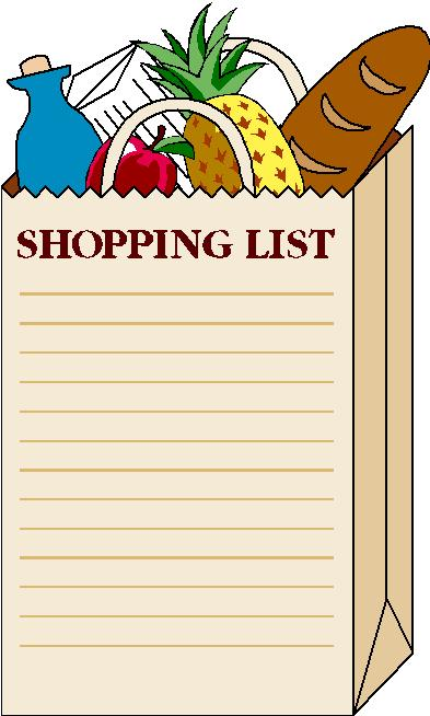 County Market Coupon News: Make a Grocery List