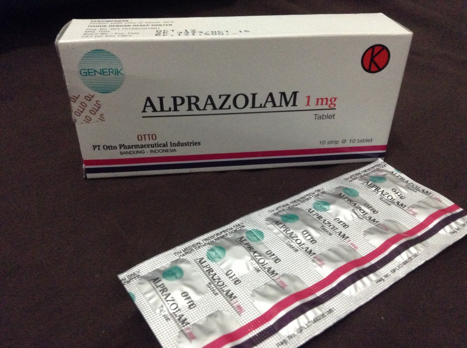 alprazolam effects on pupils