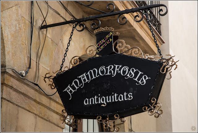 Barcelona: Barrio Gótico - Antigüedades | Catalunya Científica | Anamorfosis
