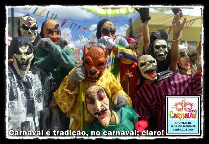 CARNAVAL é tradição, mas também é RESPONSABILIDADE!