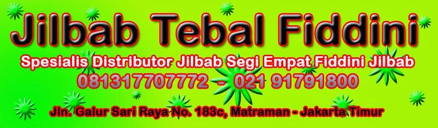 Jilbab Tebal Fiddini