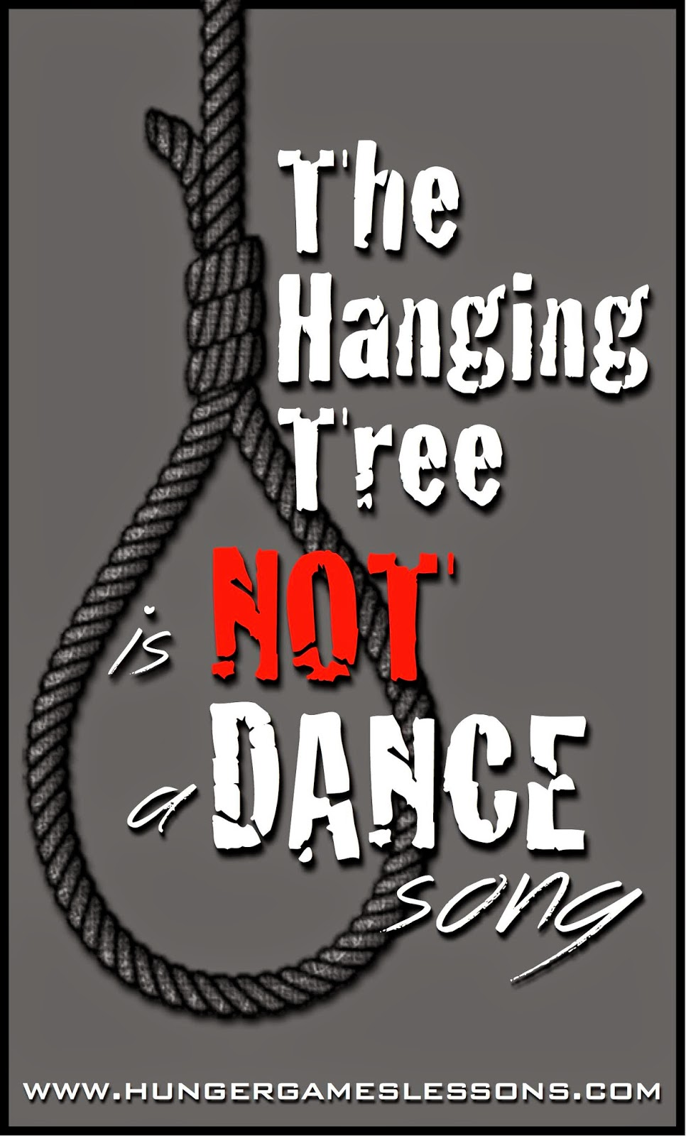 """The Hanging Tree"" is NOT a dance song - www.hungergameslessons.com"