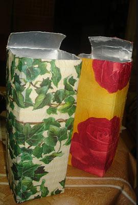embrulhos e sacolas para presentes Cai