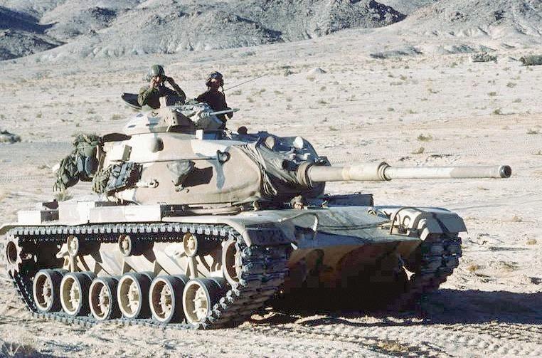 Fuerzas Armadas de Iran M-60a1-dvic349