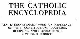Enciclopédia Católica 1913