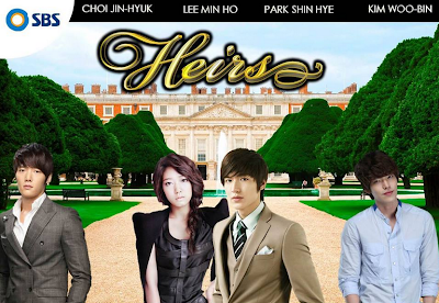 "Park Shin Hye : will be play at ""The Heirs"" drama !"