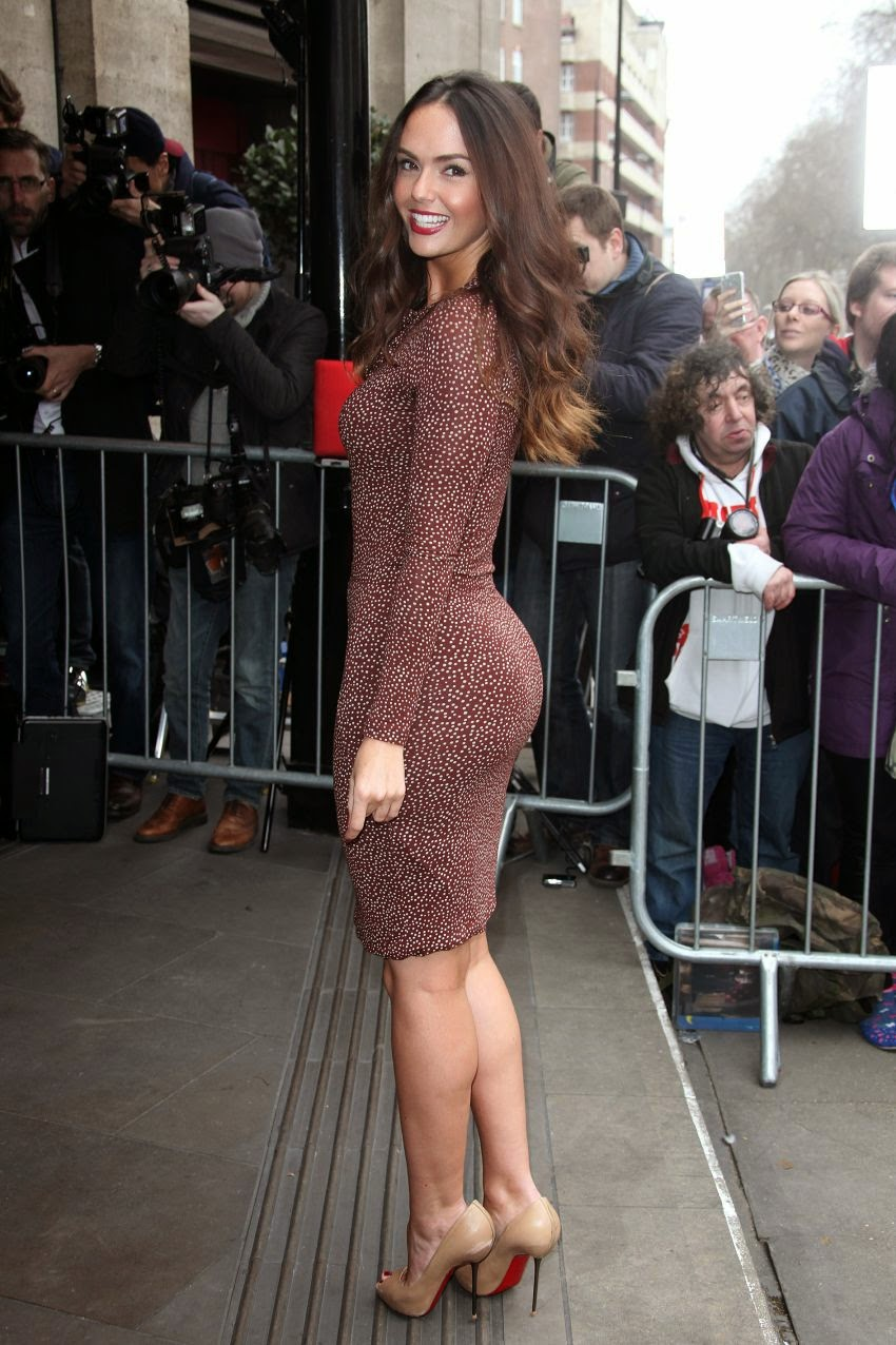 Jennifer Metcalfe Looks Stunning at TRIC Awards 2014
