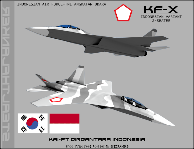 Proyek Jet Tempur IFX/KFX Indonesia-Korea Selesai 2020