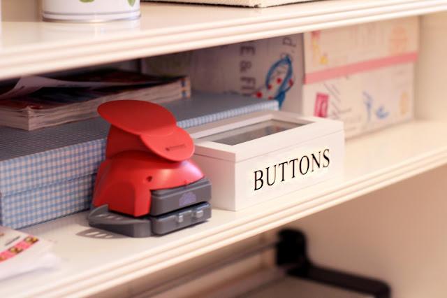 Craft room, cuarto de manualidades, troqueladoras