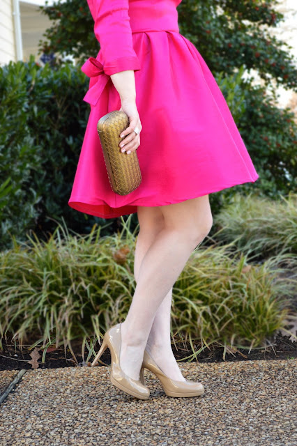 how-to-wear-pink-dress