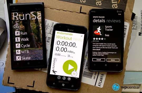 Aplicaţii GPS pentru monitorizarea alergării. Telefoane