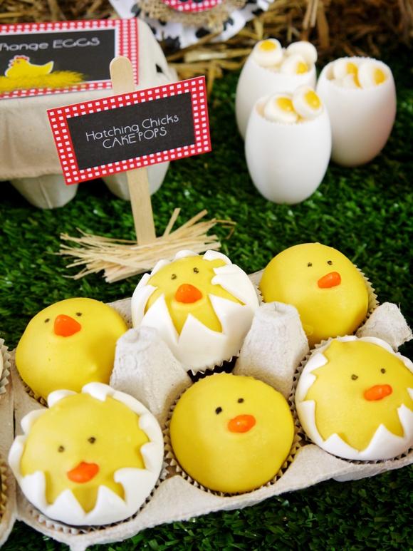 Cake it Pretty: DIY Hatching Chicks Cake Pops - BirdsParty.com
