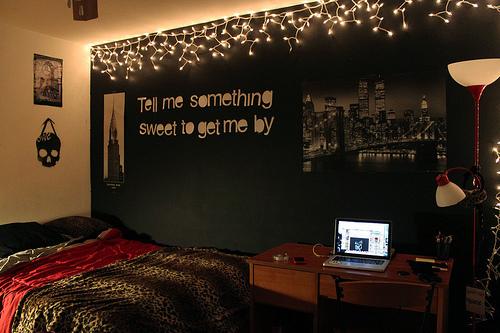 Tudo muito Lindo ! Decore seu quarto com frases! ~ Tumblr Quarto Di Secolo