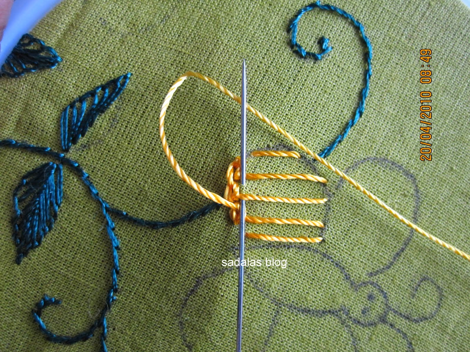 Aari Embroidery Stitches Tutorial Ausbeta