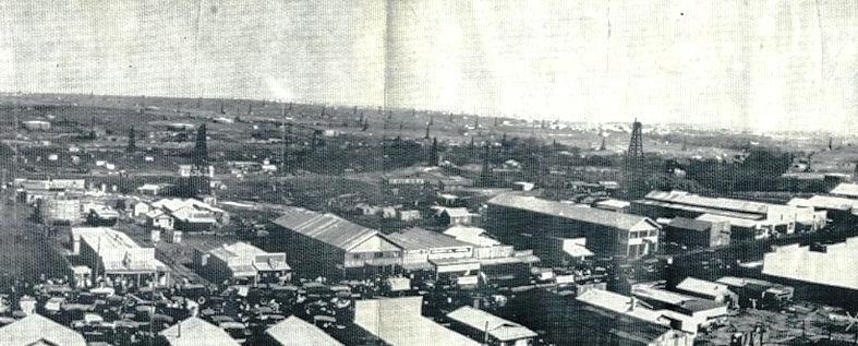 Whizbang, Oklahoma oil boom town 1922