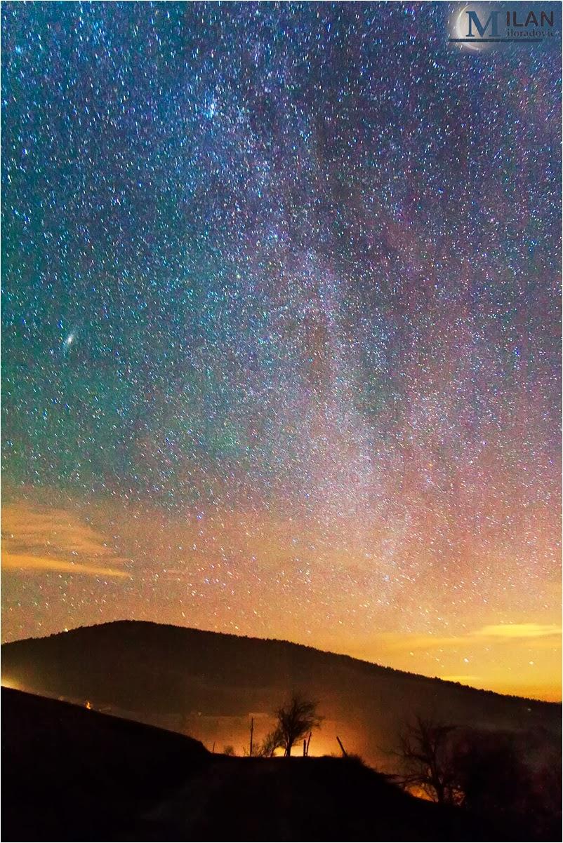 Milky Way over Zlatibor