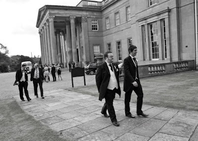 Groom heads to Wynyard Hall's Chapel