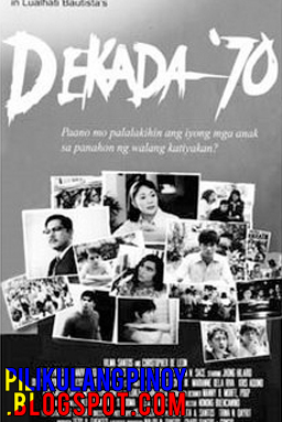 reflection paper about dekada 70