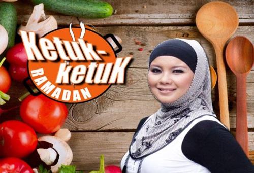 ketuk-ketuk ramadan 2015 rancangan artis memasak saluran tv1, sebab perlu menonton ketuk-ketuk ramadan tv1, gambar ketuk-ketuk ramadan, hos pengacara ketuk-ketuk ramadan