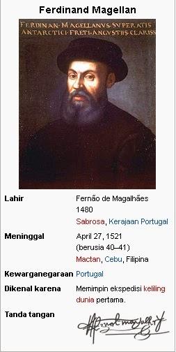 Ferdinad Magellan; Mualim Pertama Keliling Dunia