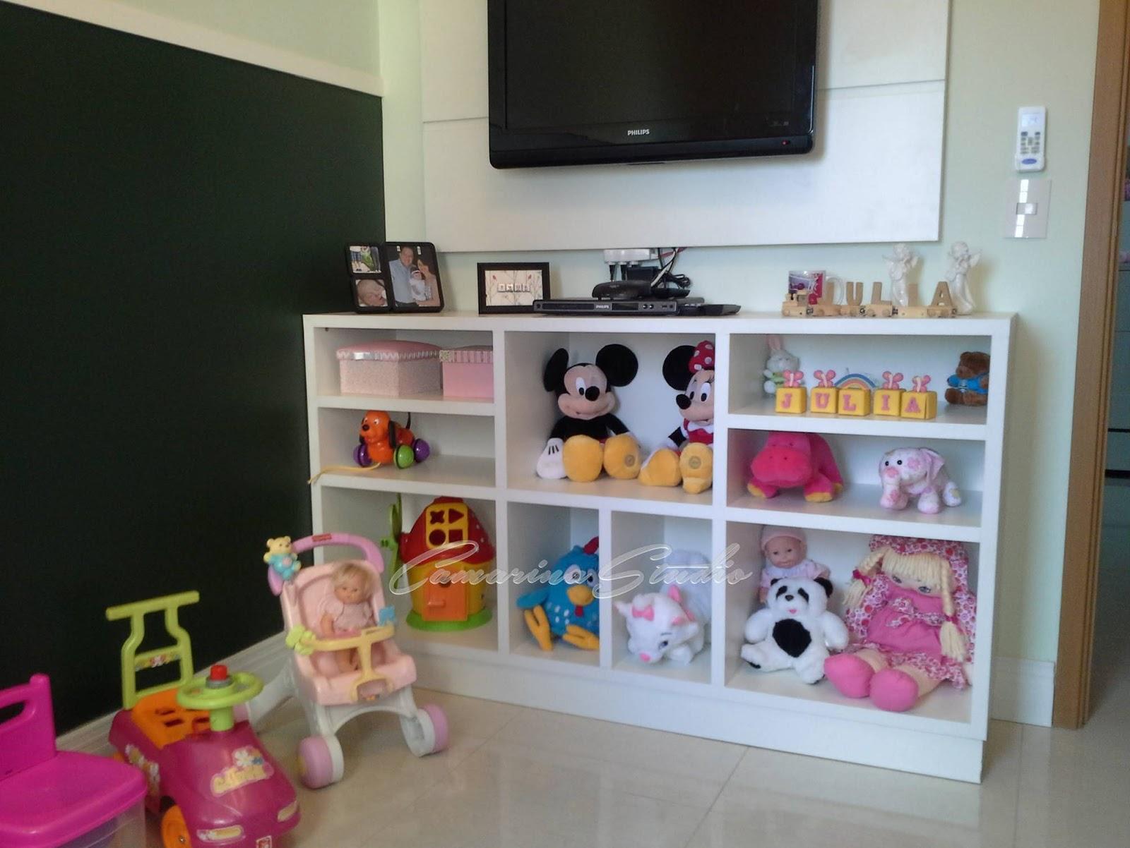 Camarina Studio Design De Interiores Por Rica Marina Ribeir O  ~ Organizando O Quarto De Brinquedos