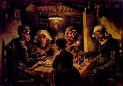 Os comedores de batatas - 1885