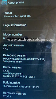 Innjoo i2 Android Smartphone   Download Android Kitkat 4.4.2.