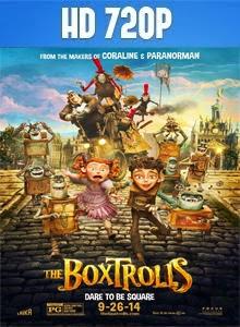 Los Boxtrolls HD 720p Español Latino 2014