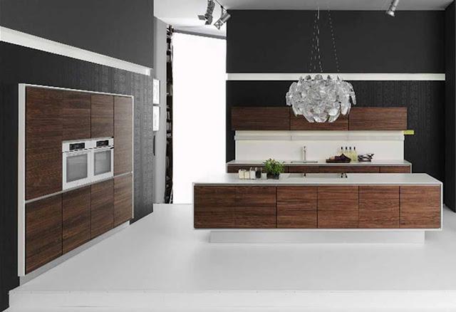 Armoires de cuisine design chic for Armoire de cuisine design