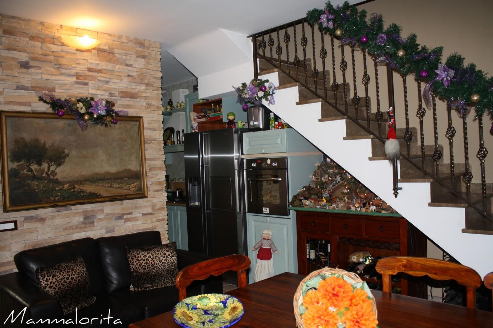 mammalorita e 39 arrivato dicembre viva il natale ed ecco la mia casa addobbata. Black Bedroom Furniture Sets. Home Design Ideas