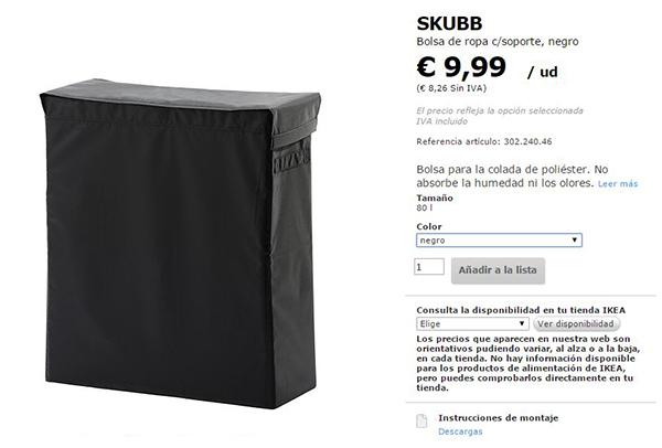 La neurona del manitas customizar el cesto de la ropa sucia - Cesto para ropa sucia ikea ...