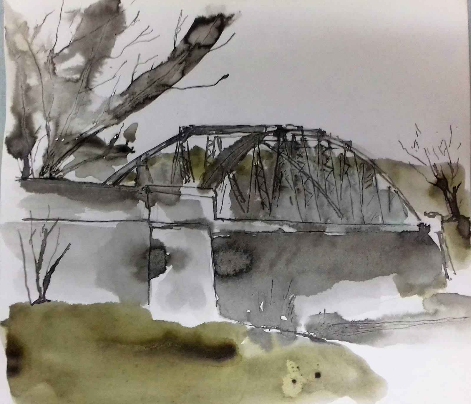 El Puente de Hierro o de Santa Fe