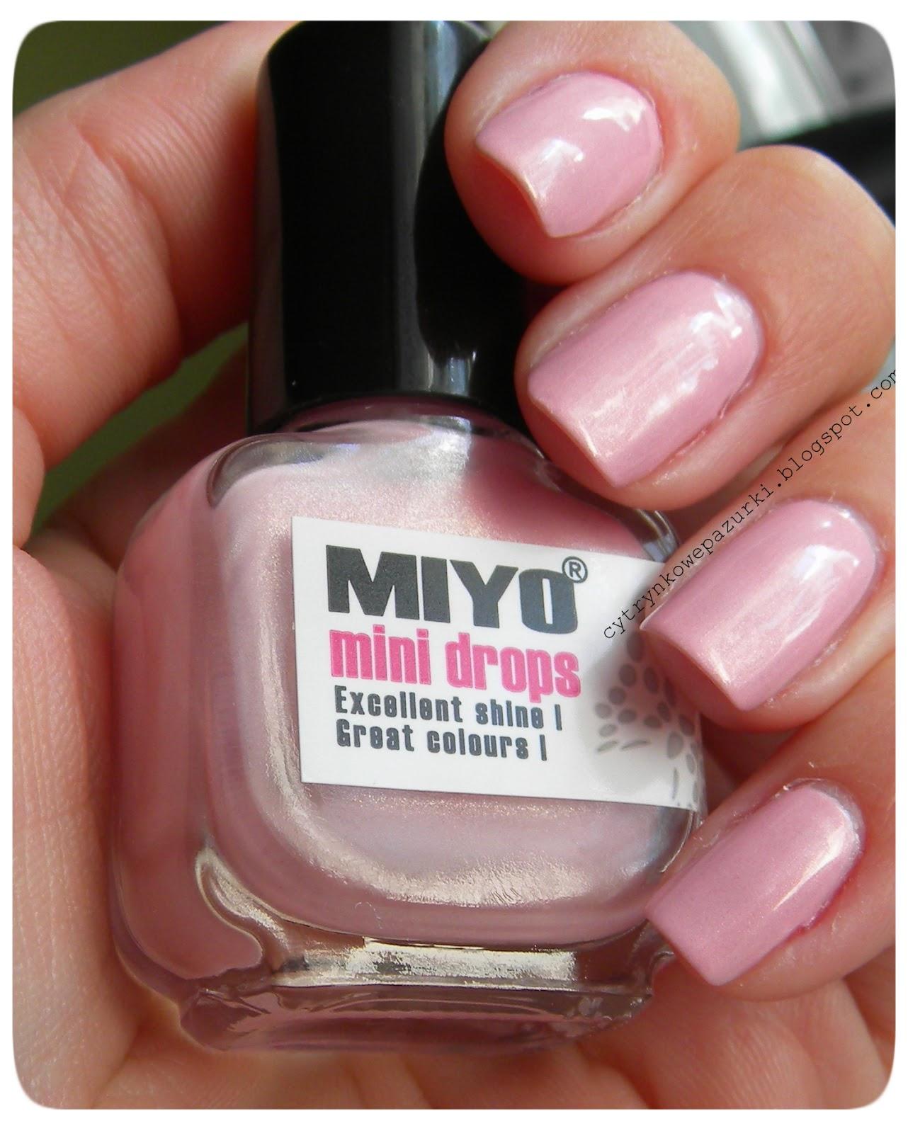 Poniedziałki z Miyo Mini Drops 170 White Swan