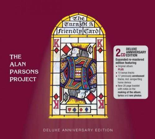 "THE ALAN PARSONS PROJECT: Επετειακή έκδοση του ""The Turn Of A Friendly Card"" με πολλά ακυκλοφόρητα κομμάτια"