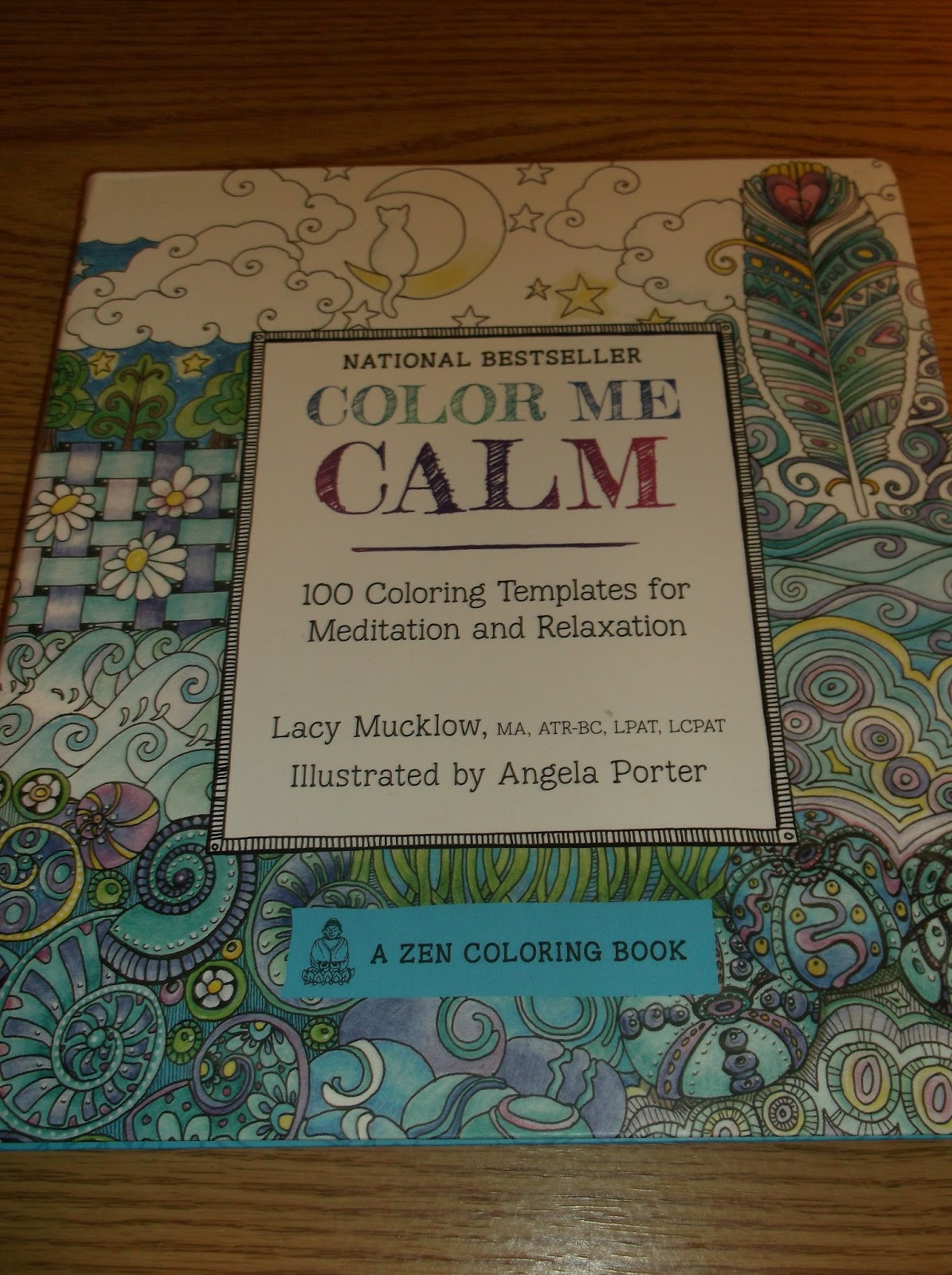 Color Me Calm Lucy Mucklow And Illustrated By Angela Porter Holiday Gift Guide 2015