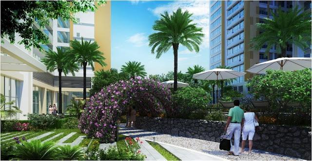 Không gian xanh dự án Imperia Garden