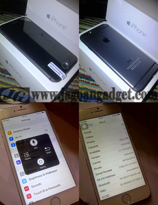 IPhone 6 Replika Supercopy HDC Real Quadcore MTK6582 RAM