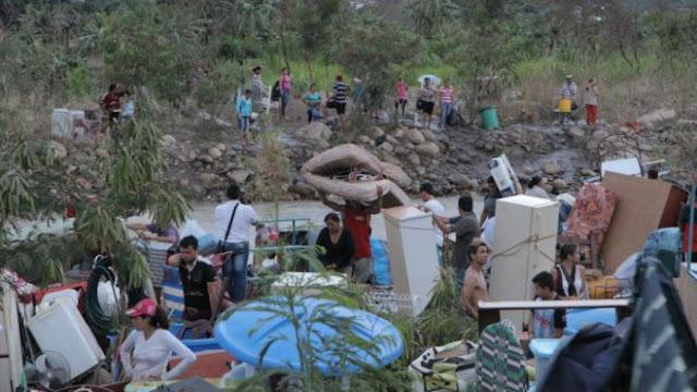 """Colombianos: """"En Venezuela vivíamos cómodo y fácil"""