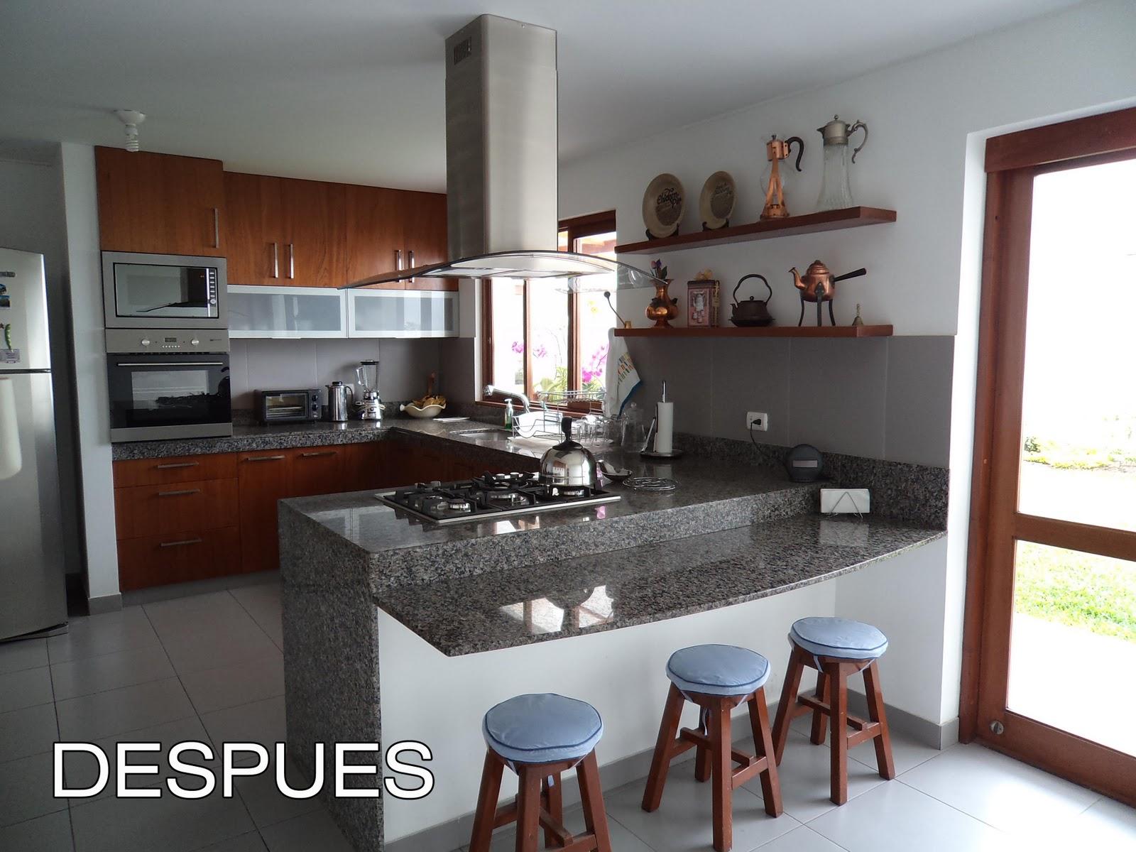 Oniria antes y despu s remodelacion de cocina for Remodelacion de casas pequenas