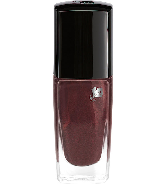 lancome brown nail polish, lancome vernis nail varnish,