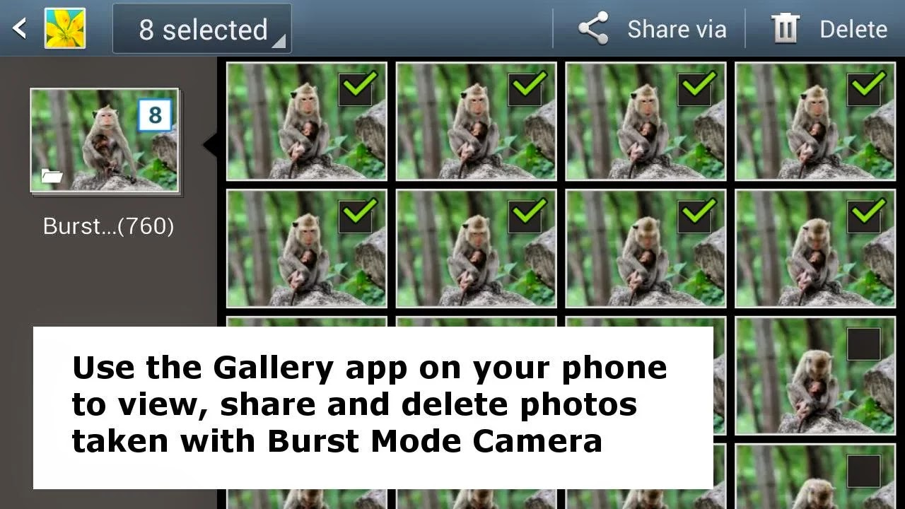 Burst Mode Camera v1.42 build 142 [IAP Unlocked]