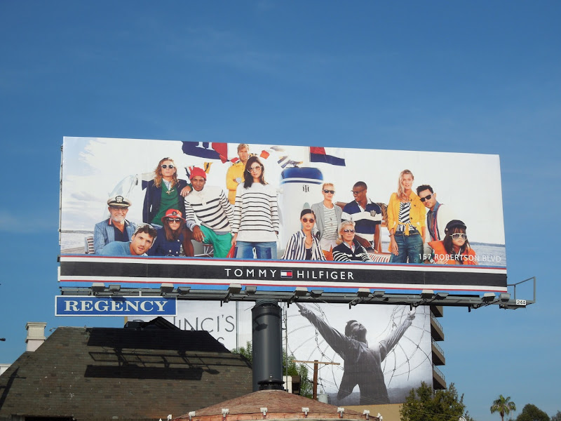 Tommy Hilfiger nautical Spring 2013 billboard
