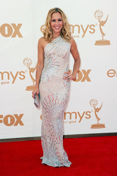 Maria Bello's Hair Looks Terrible But I Really Love This Dress It