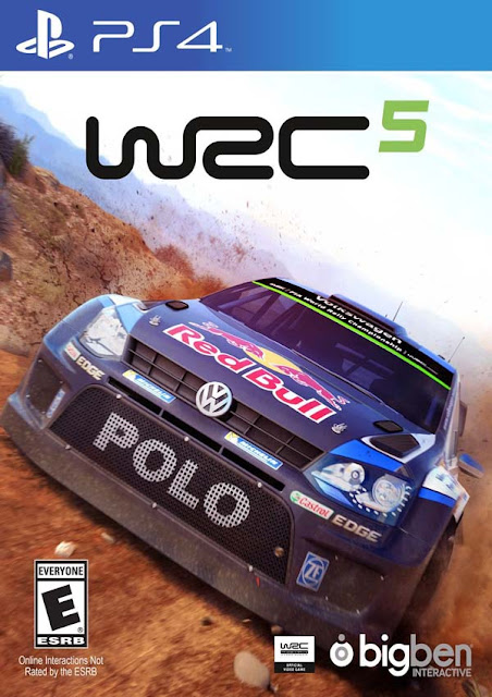 WRC 5 FIA World Rally Championship Download Cover Free Game